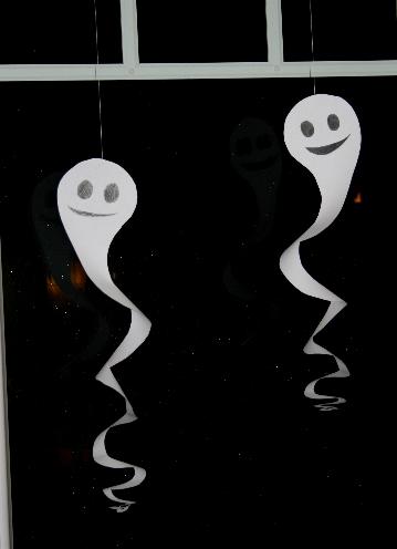 Gespenster Basteln Klopapierrollen Dansenfeesten